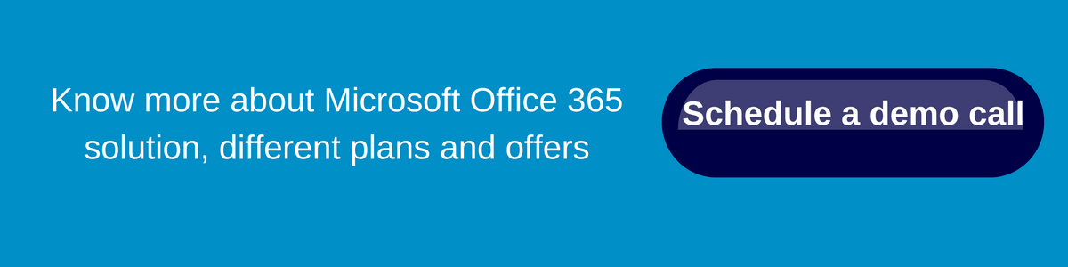 Microsoft Office 365 Demo Call