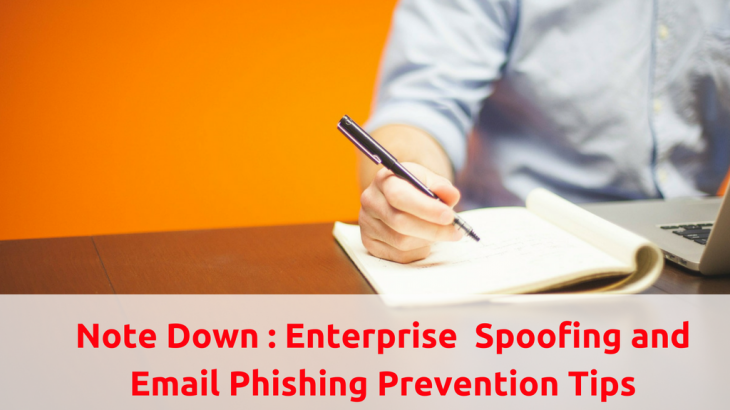 Email Phishing and Email Spoofing Prevention