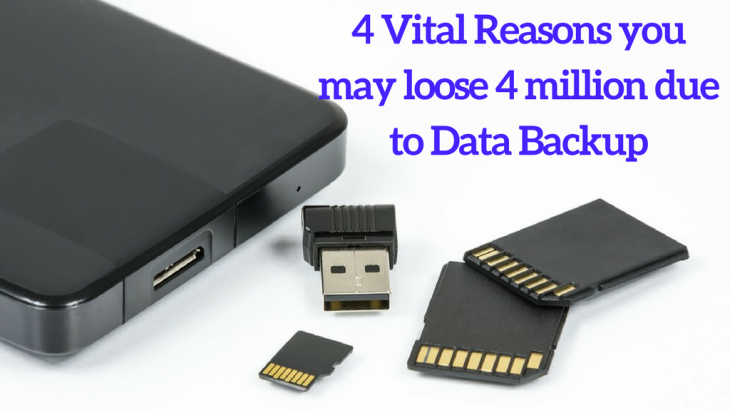 4 Reasons why data backup is vital for your organization