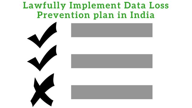 lawful implementation of DLP