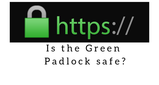 green padlock https