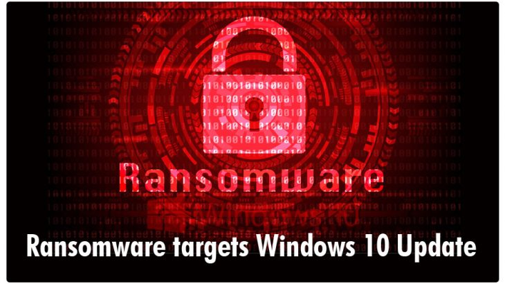 Windows 10 Update Ransomware