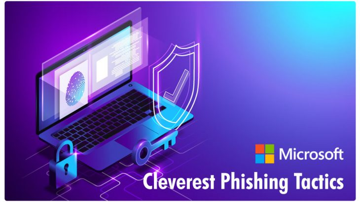 Microsoft Report on the cleverest phishing tactics of 2019