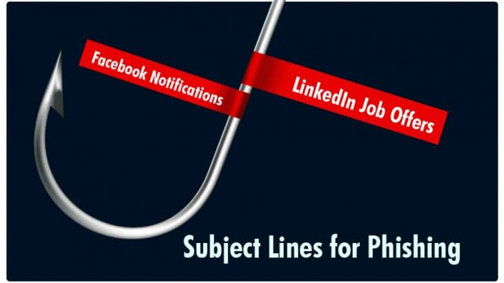 Subject Lines For Phishing