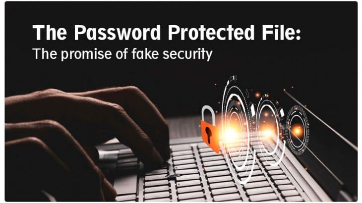 Phishing Attack contains Protected File
