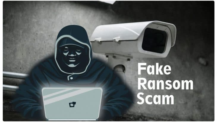 Email Extortion Campaign Demand Fake Ransom