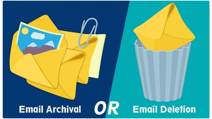 Email Archival Versus Email Deletion