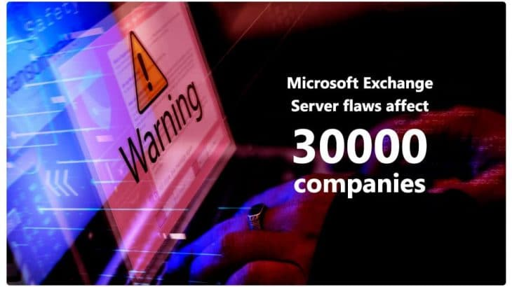Microsoft Exchange Server Flaws Affect 30000 Companies