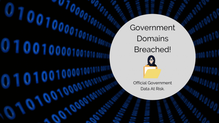 Government Domains Breached